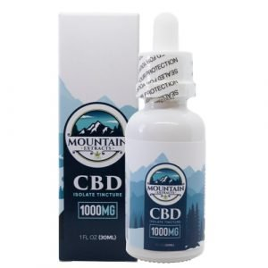 Mountain Extracts – CBD 1000mg Tincture