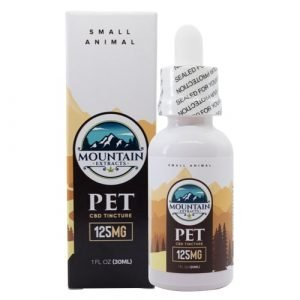 Mountain Extracts – Pet CBD 125mg Tincture