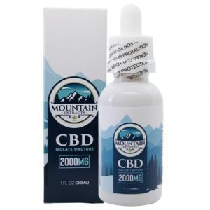 Mountain Extracts – CBD 2000mg Tincture