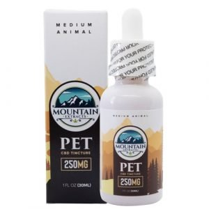 Mountain Extracts – Pet CBD 250mg Tincture