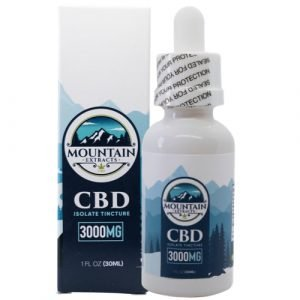 Mountain Extracts – CBD 3000mg Tincture