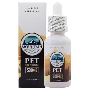 Mountain Extracts – Pet CBD 500mg Tincture