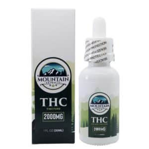 Mountain Extracts – THC 2000mg Tincture